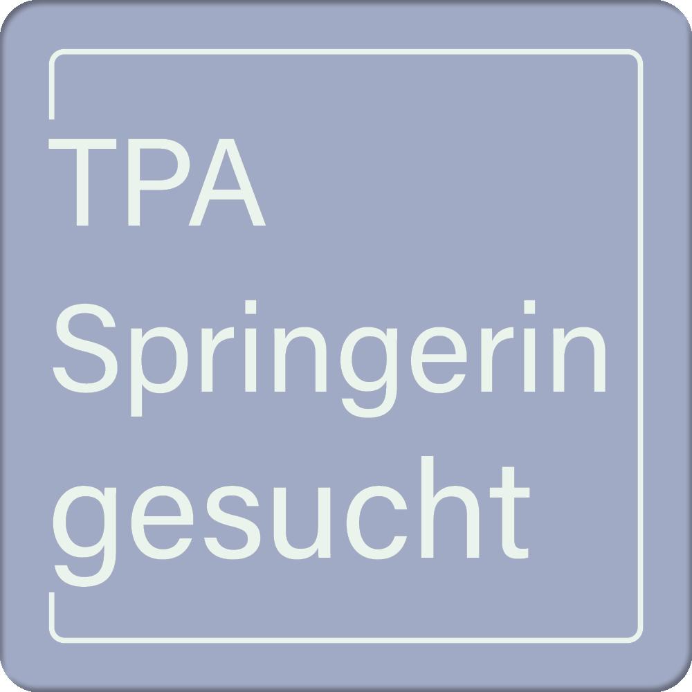 VSTPA - Springerin, Teilersatz gesucht